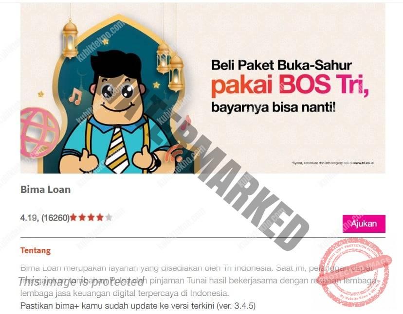 Program Bima Loan 3