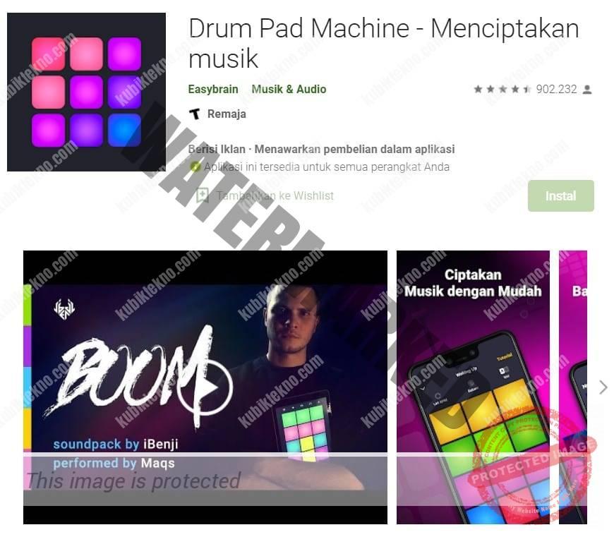 aplikasi Drum Pad Machine