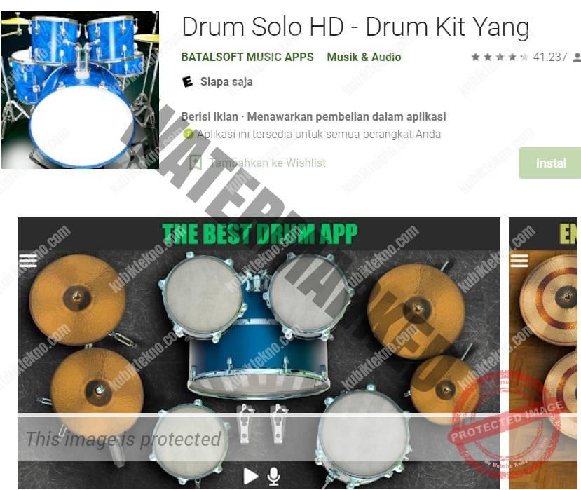 aplikasi Drum Solo