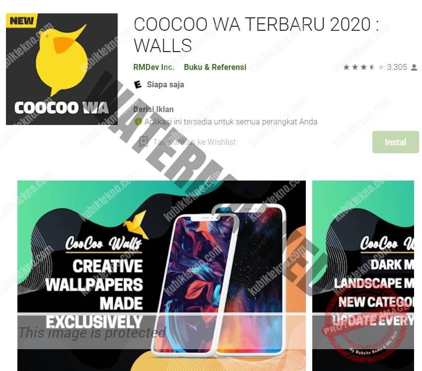 Coocoo Whatsapp, Aplikasi Mempercantik Video Call WA Terbaik