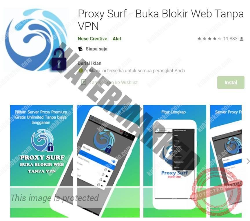 aplikasi Proxy Surf