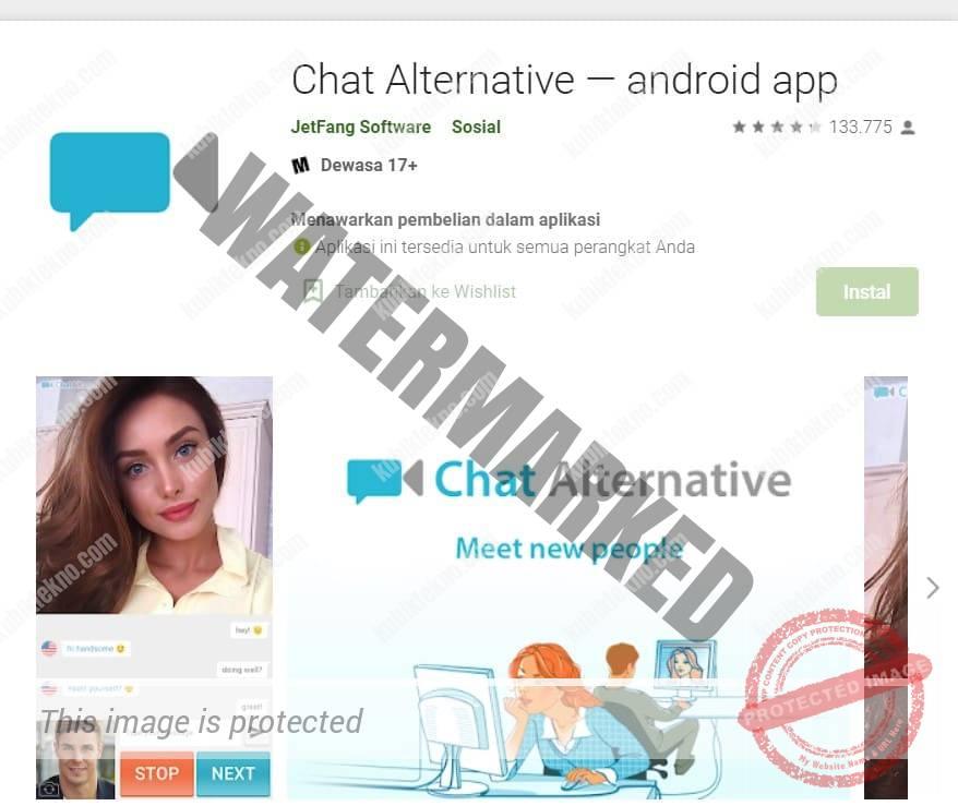 aplikasi Chat Alternative