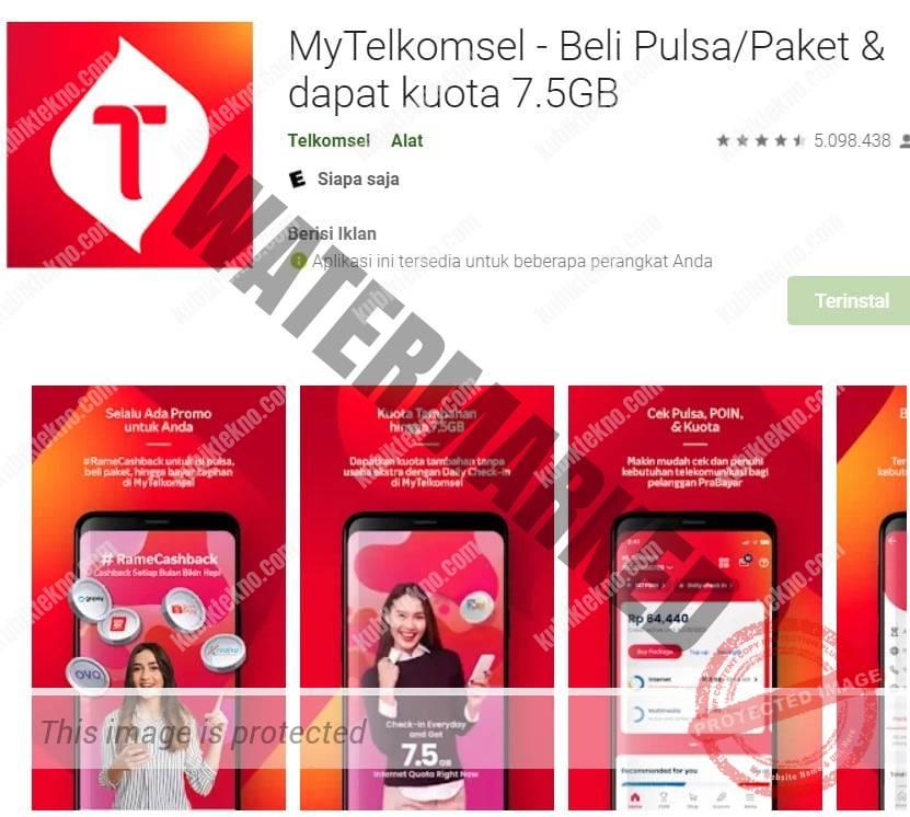 aplikasi telkomsel untuk hutang pulsa