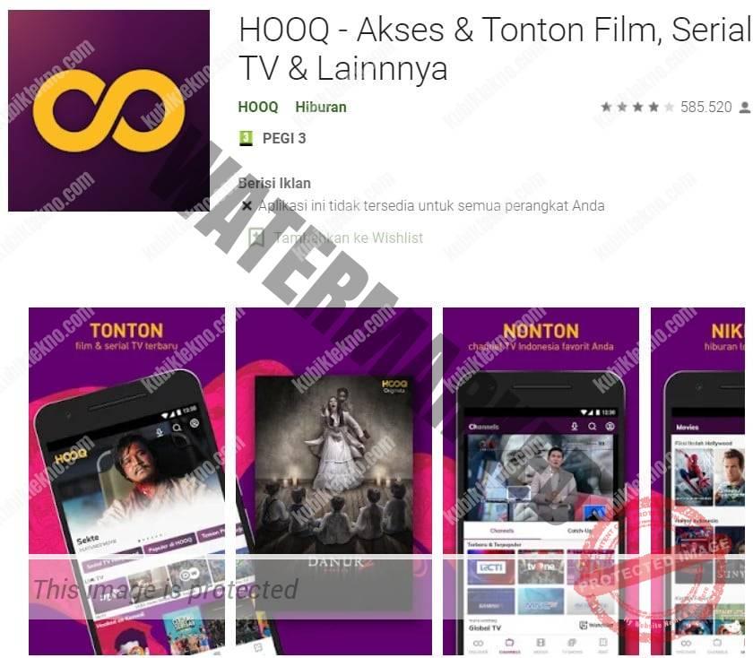 aplikasi hooq