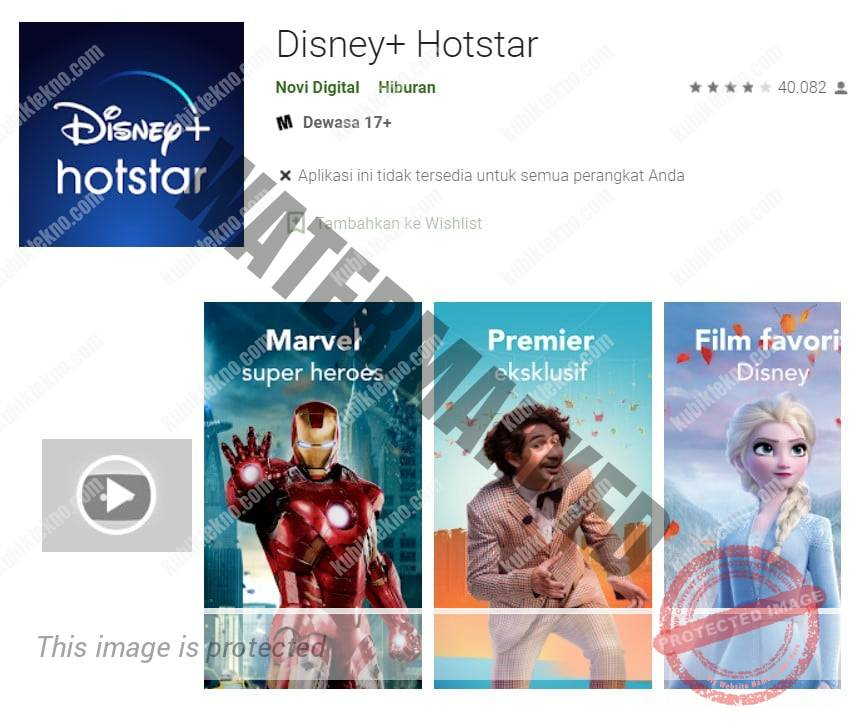 Aplikasi Hotstar