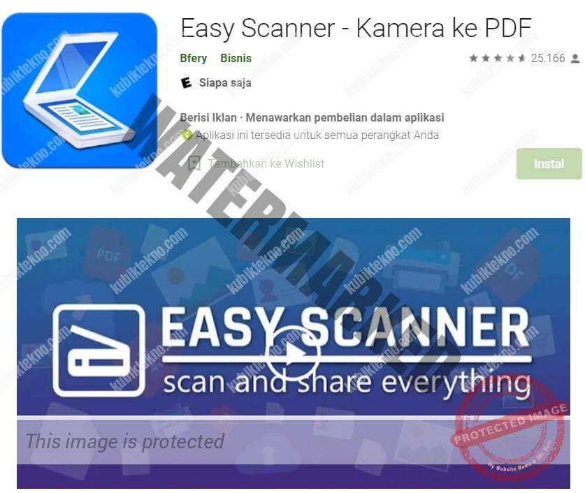 aplikasi easy scanner