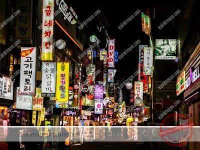 malam di korea